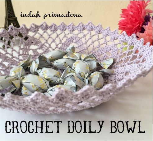 Primadona's Notes: Crochet Doily Bowl