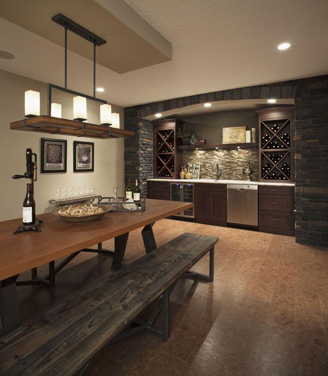 Wine Bar, I like the back bar set up