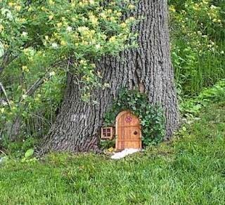 fairy door | Galatians 4: Fairies, Gnomes, Elves and More.....