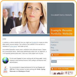 Build Online Resume Website - Specialist's opinion