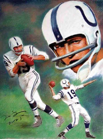 JOHNNY UNITAS Poster PICTURES PHOTOS and IMAGES