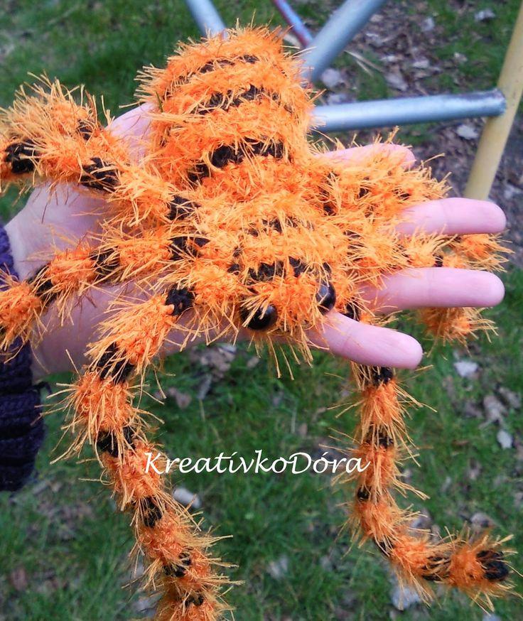 Crochet tarantula