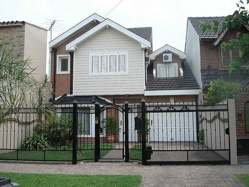 Decoracion y dise o en rejas para la casa casa honda for Disenos de frentes de casas
