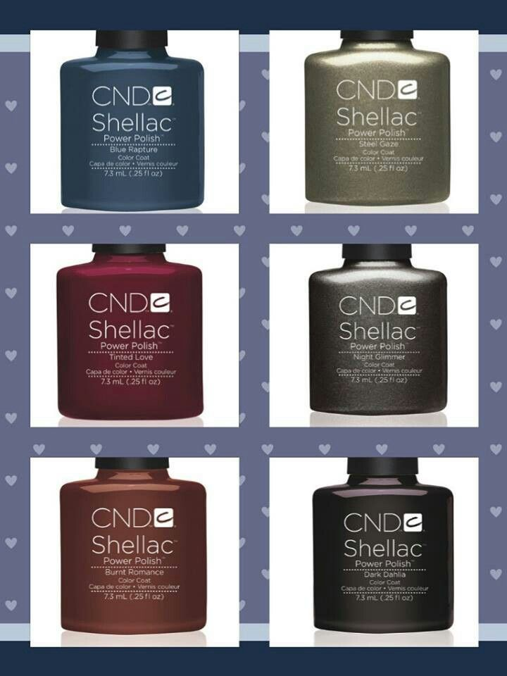 New CND Shellac Colors.... coming soon.