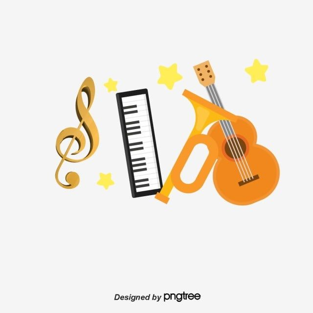 Musical Instrument Music Musical Instruments Cartoon Instrument Png Transparent Clipart Image And Psd File For Free Download In 2021 Musicals Retro Music Musical Instruments