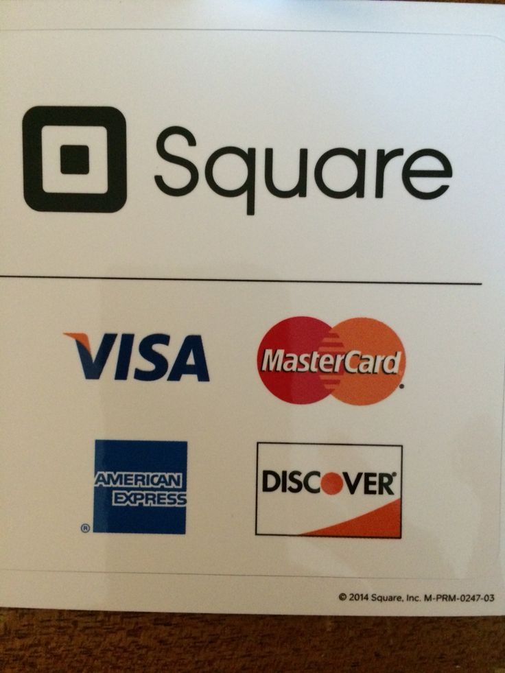 Great for trade shows square credit card credit card