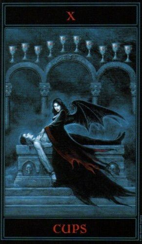 17 Best Images About Tarot: Ten Of Cups On Pinterest