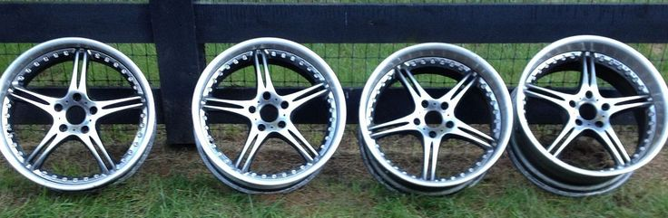 SSR Wheels (Pre-owned 5 Star 19 inch Rims, BMW)
