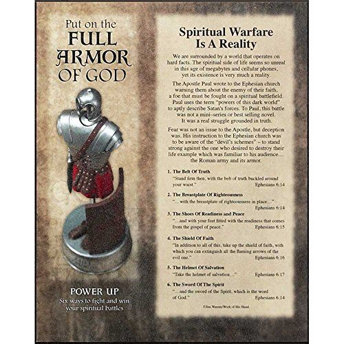 Full Armor of God Ephesians 6 Wood 8 x 10 Wall Art Plaque * Insider's special review you can't miss. Read more