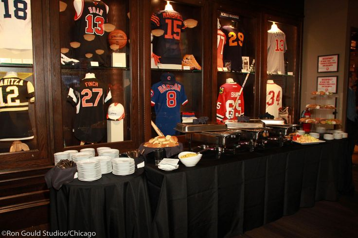 Dine next to some of the coolest Chicago Sports gear during your next big corporate event, at the Chicago Sports Museum