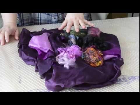 Подробный мастер класс по созданию эффектной шелковой туники. Фрагмент выступления на онлайн фестивале мастеров валяния (май 2016)
