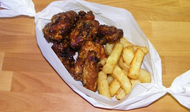 Mézes-fokhagymás sült csirke recept
