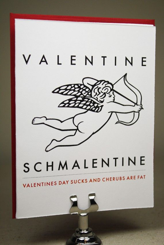 This is funny :) For those who think Valentine's Day is a hallmark holiday!
