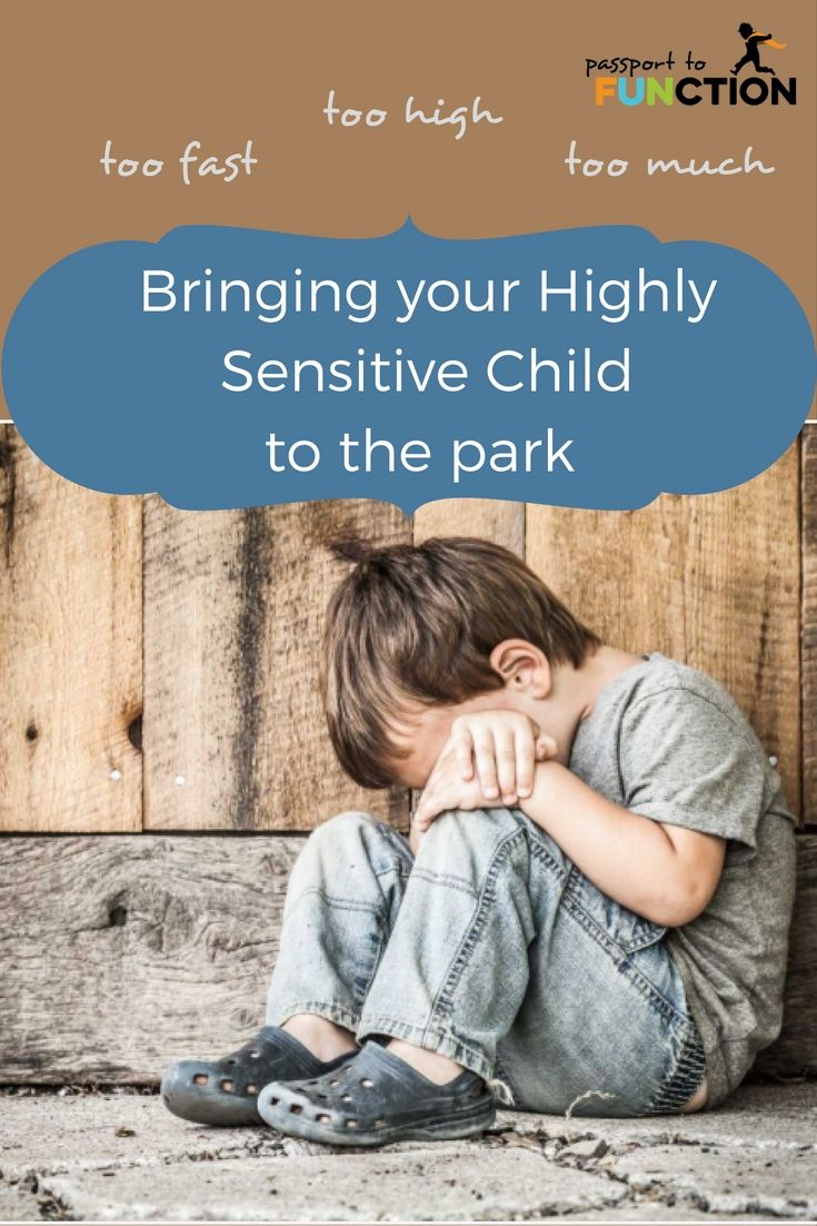 Bringing your Highly Sensitive Child to the park