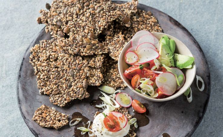 Seed Crackers: Banting and Low Carb friendly