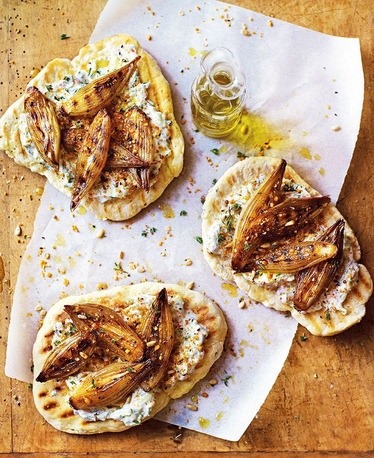 Make shallots the star of the show with this Middle-Eastern-inspired lunch recipe.