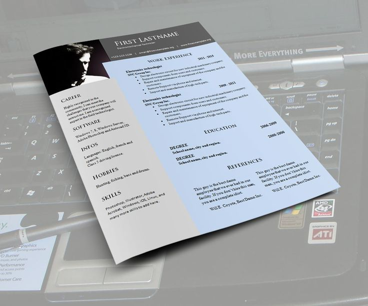 17 best images about free cv template on pinterest