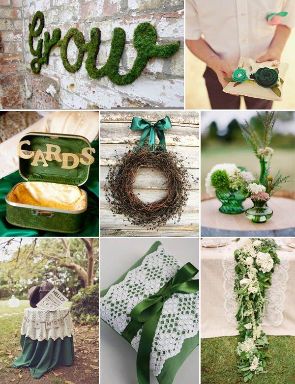 {Wedding by color} Matrimonio verde smeraldo by weddingwonderland.it