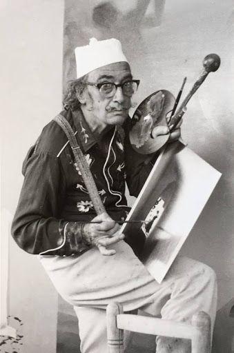 Salvador Dali in Cadaques
