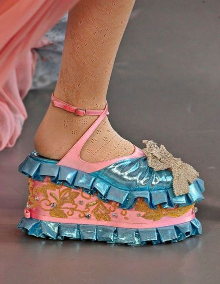 Meadham Kirchhoff crazy awesome shoes