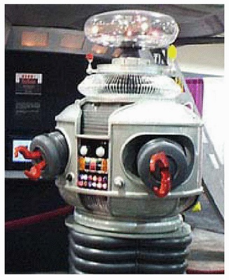 """""""Perigo!Perigo!Perigo!"""" - Robô - Perdidos no Espaço"""