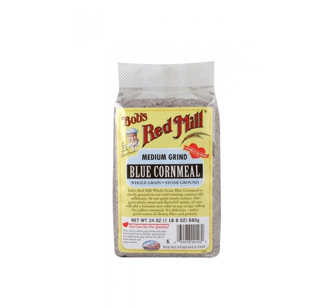 Blue Cornmeal starting at $4.29 from Bob's Red Mill.