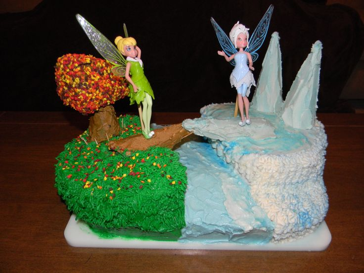 Tinkerbell and Periwinkle Birthday Cake #EverdayConfetti ...