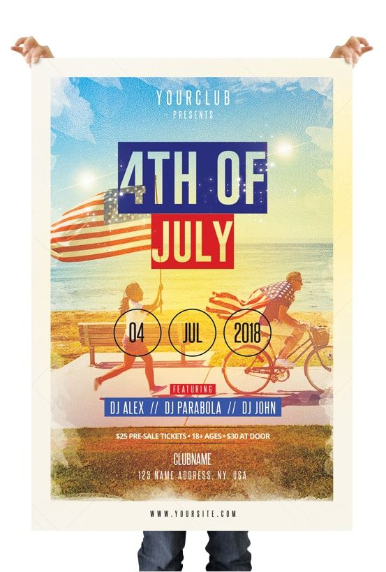 4th of july party flyer pinterest psd flyer templates free psd