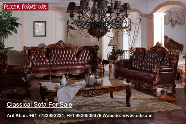 Traditional Furniture Collections Classic Sofa Set Traditional