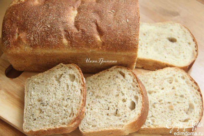 Яблочный хлеб с розмарином