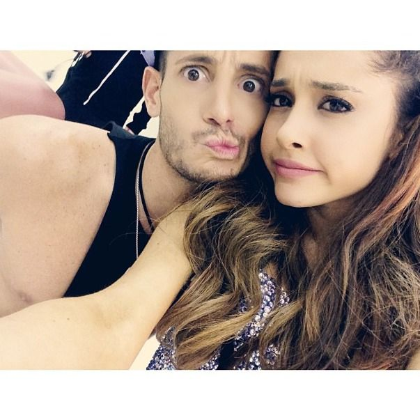 Ariana Grande and Frankie Grande  So let's just say I have a SLIGHT obsession with ariana and her awesome brother Frankie. They are amazing and Frankie is beautiful