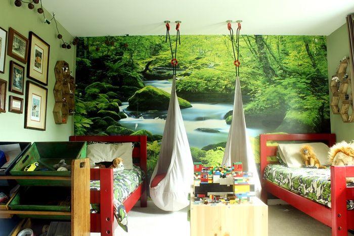 7 Inspiring Kid Room Color Options For Your Little Ones: 17 Best Ideas About Forest Green Bedrooms On Pinterest