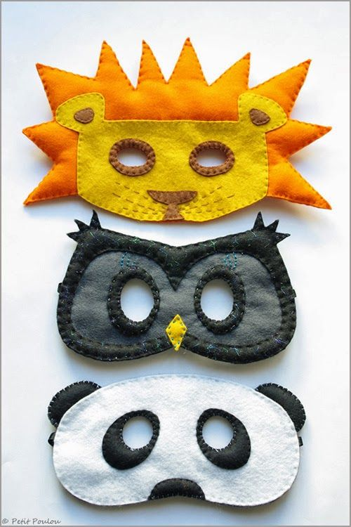 DIY : Felt Masks