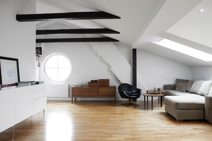 Let's live in the attic!