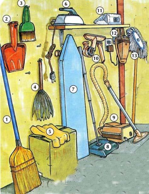 huishoudelijk materiaal