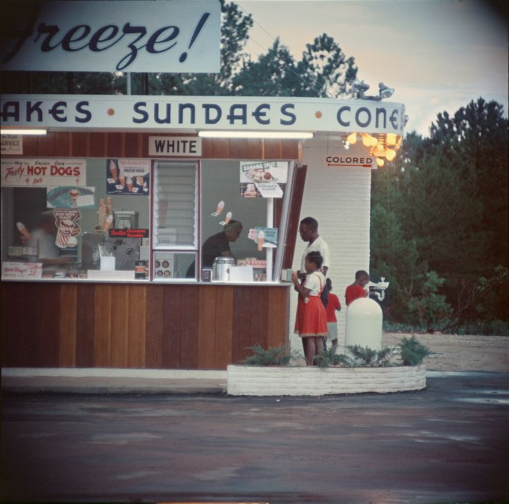 Shotguns and sundaes: Gordon Parks's rare photographs of everyday life in the segregated South