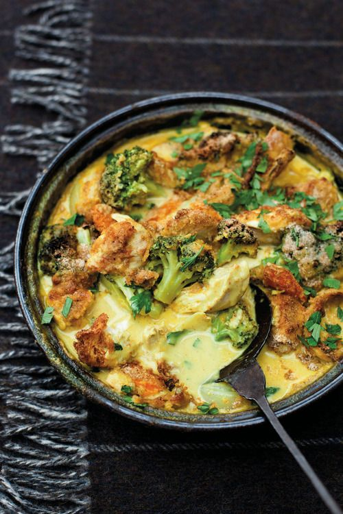 Chef Tom Kitchin's Chicken & Broccoli Bake