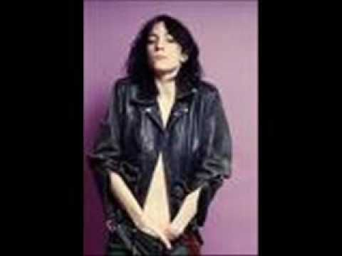 Dancing Barefoot by Patti Smith. An oldie, but still sounds great.