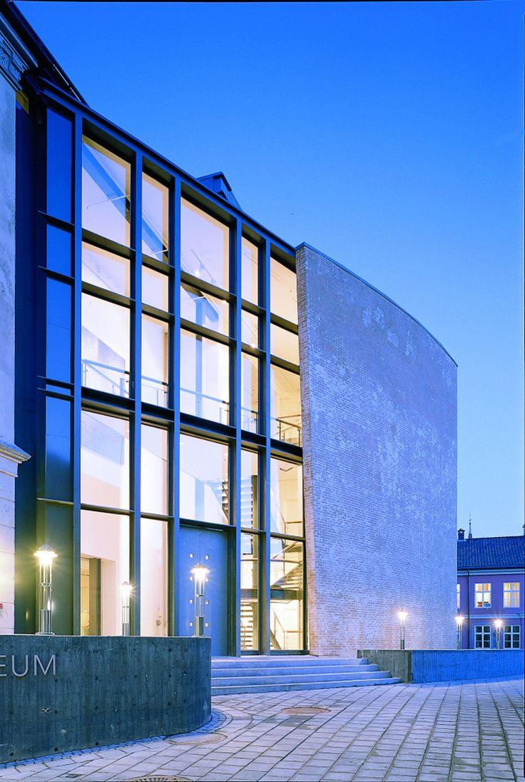 Sørlandets Kunstmuseum.  Arkitekt: Jan Egil  Løvdahl