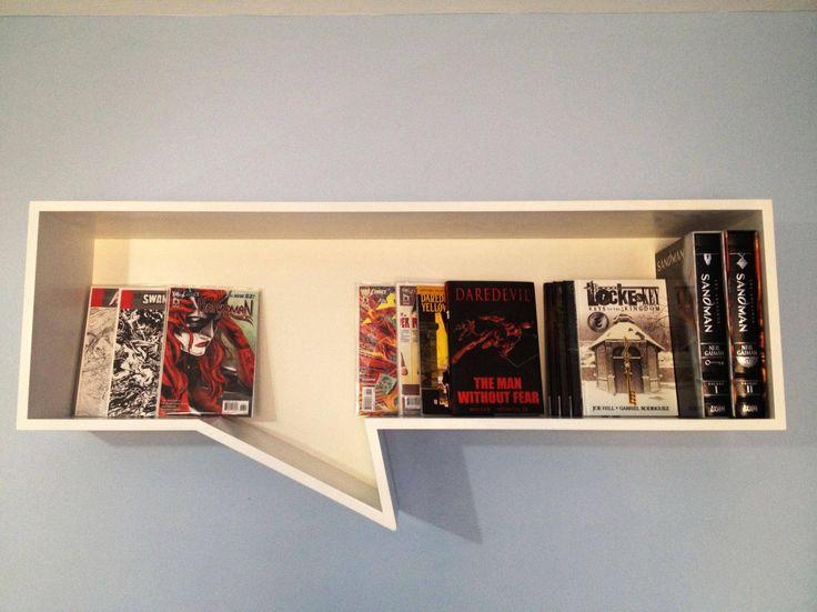 Comic book shelf: brincatmark over at r/comicbooks on Reddit built this.