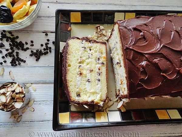 Chocolate Cassata Cake Recipe — Dishmaps