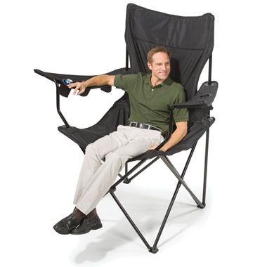 The Brobdingnagian Sports Chair - Hammacher Schlemmer Perfect present for Daddy! @Amy Davis