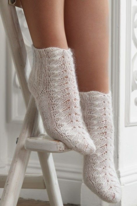 Women's Openwork Socks $56