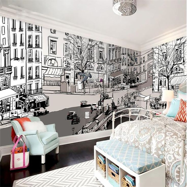 Oltre 25 fantastiche idee su pittura carta da parati su for Carta parati murales