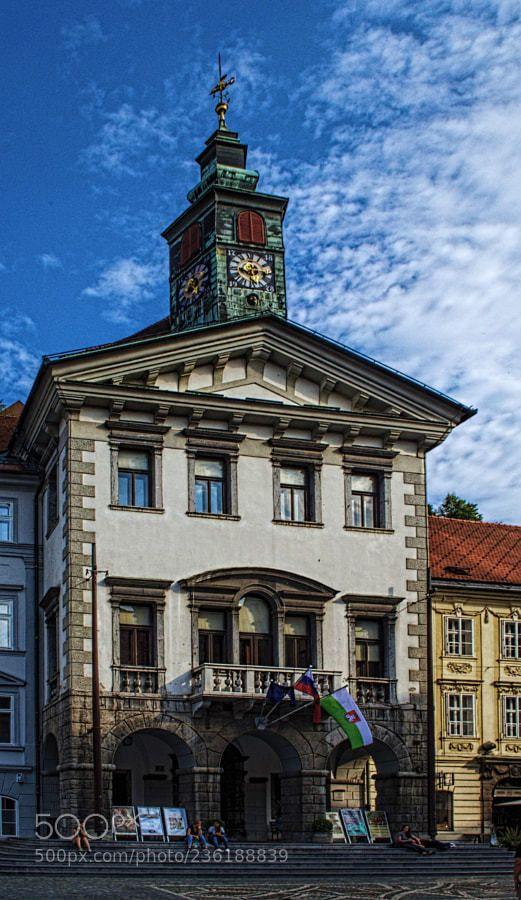 Ljubljana Town Hall (Slovenia)