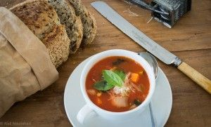 Winter Minestrone - This is one of my favourite one pot meals.  I know it's a soup but it's just so hearty and filling. Delicious and nutritious!
