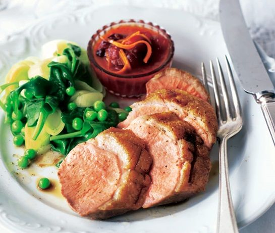 Duck breasts with fruity clementine & cranberry sauce | ASDA Recipes