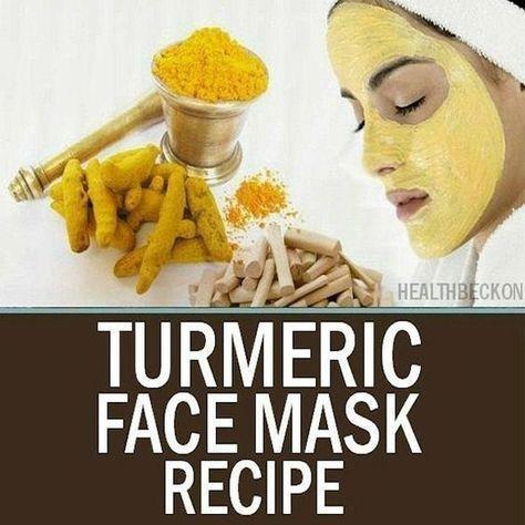 DIY Kurkuma Gesichtsmaske Rezept Hautpflege Schönheit Beauty-Tipps DIY Gesichtsmasken #Gr …   – Face Care For Oily Skin
