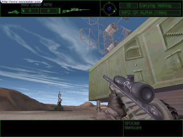 Delta Force 1 Game Demo