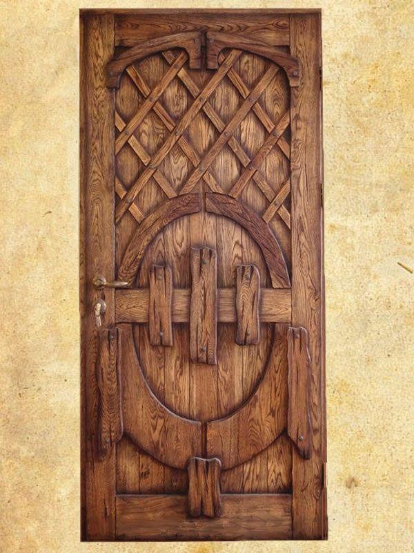 Дверь под старину Традиция